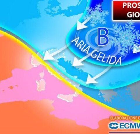 Ondata di gelo dalla Siberia